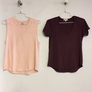Lot of 2 T Shirts, Seven / Wilfred, XS